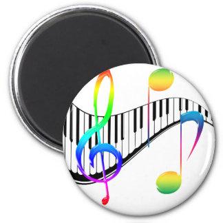 Piano 02 refrigerator magnet