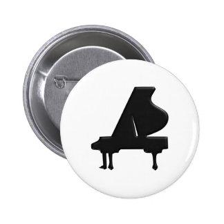 Piano 2 Inch Round Button