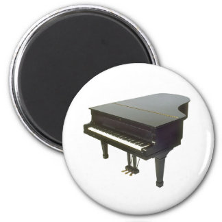 Piano 2 Inch Round Magnet