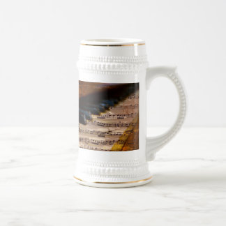 piano-317026 PIANO NOTES SHEET MUSIC SONGWRITER SO 18 Oz Beer Stein