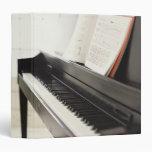 Piano 3 Ring Binders