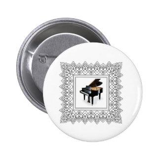 piano ajustado pin redondo de 2 pulgadas