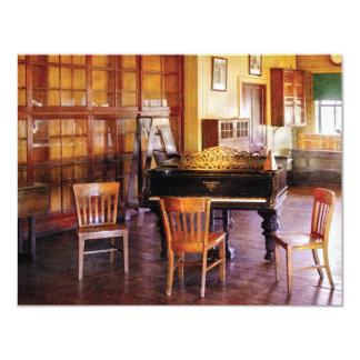 Piano - aliste para las lecciones de piano invitaciones personales