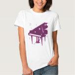 Piano and Snowflakes Tshirt