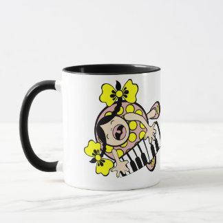 piano baby mug