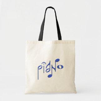 piano canvas bag