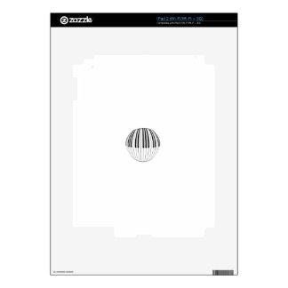 Piano Ball Skin For iPad 2