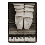 Piano Ballet Duet large size Poster