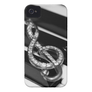 Piano Bar with G-clef Case-Mate iPhone 4 Case