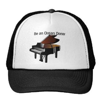 Piano Be an Organ Donor Trucker Hat