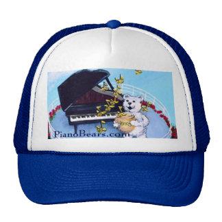 Piano Bears Character Trucker Hat