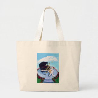 Piano Bears Musical Character Tote Bag