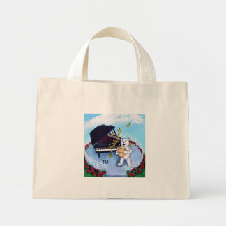 Piano Bears Tote Bag