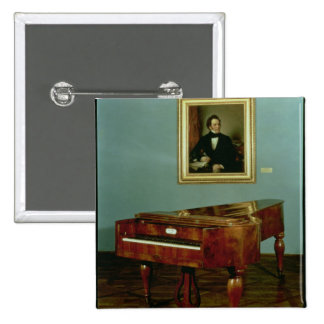 Piano belonging to Franz Peter Schubert Button