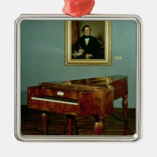 Piano belonging to Franz Peter Schubert Christmas Ornaments
