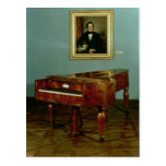 Piano belonging to Franz Peter Schubert Postcards