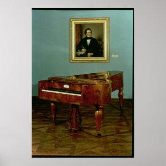 Piano belonging to Franz Peter Schubert Poster