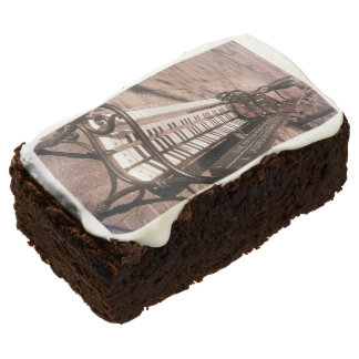 Piano bench brownie