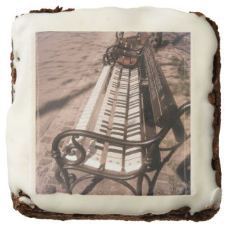 Piano bench chocolate brownie
