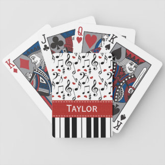 Piano Bicycle® Playing Cards