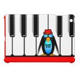 piano blues man iPad mini cases
