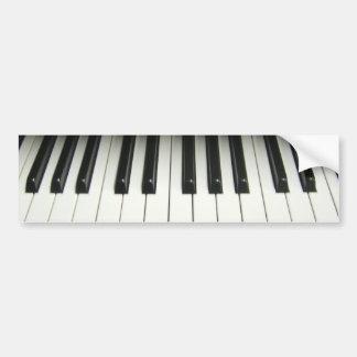Piano Bumper Sticker