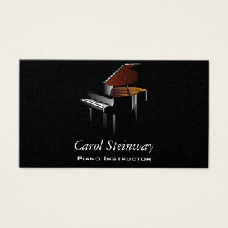 Piano Business Card