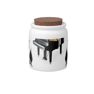 piano c jazz candy dishes