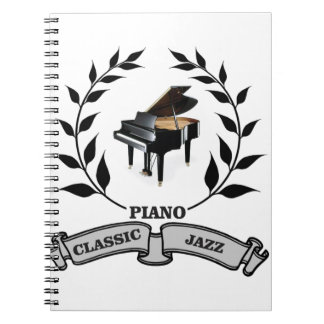 piano c jazz spiral notebook