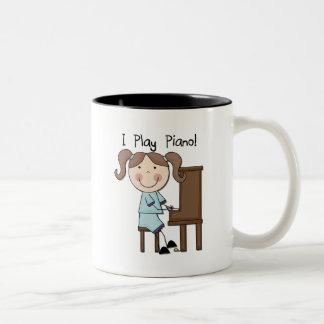 Piano - camisetas y regalos femeninos tazas