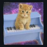 """Piano cat bandana<br><div class=""""desc"""">cute cats, funny cats, kittens pet kitty keyboard , kitten tabby small beautiful,  animal little pretty domestic,  feline  baby adorable paw , sitting lovely music instrument , classical musical concert melody , sound classic musician</div>"""