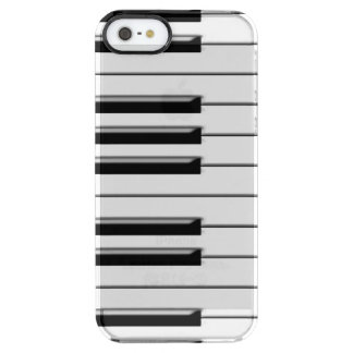 Piano Clear iPhone SE/5/5s Case