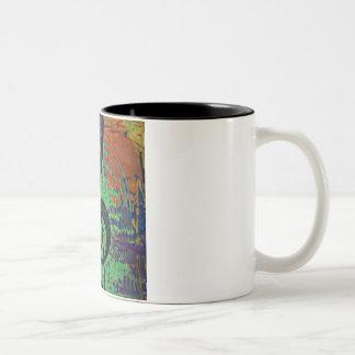 Piano Clef Music Style Two-Tone Coffee Mug