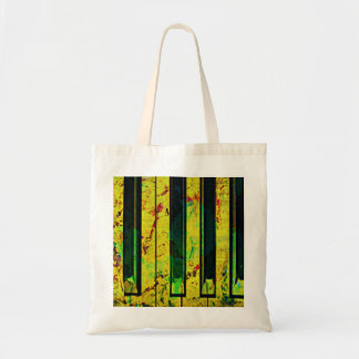 Piano Clef Style Tote Bag