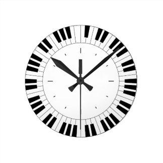 Piano clock