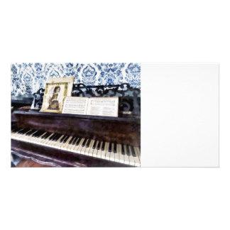 Piano Closeup Card