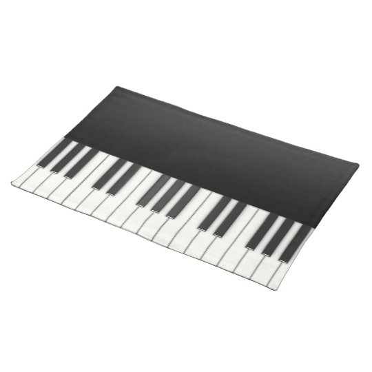 Piano Cloth Placemat