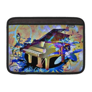 Piano coloreado Digital enrrollado Fundas Para Macbook Air