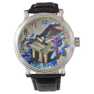 Piano coloreado Digital enrrollado Reloj