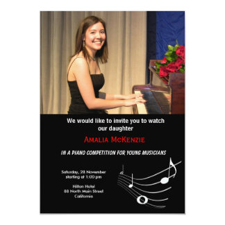 Piano Competition Custom Announcements