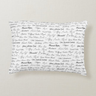 Piano composer of the classical period decorative pillow