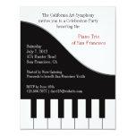 Piano Concert Invitation