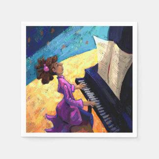 Piano Concert Napkin