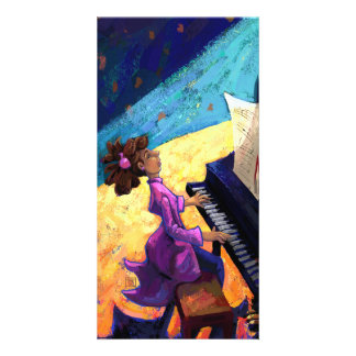 Piano Concert Photo Greeting Card
