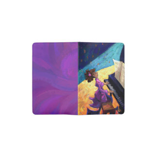 Piano Concert Pocket Moleskine Notebook Cover With Notebook