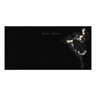 Piano Dance Card