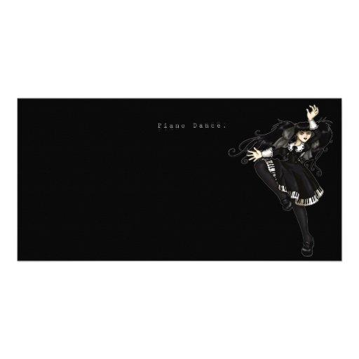 Piano Dance Photo Card