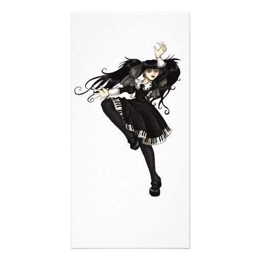Piano Dance Photo Cards