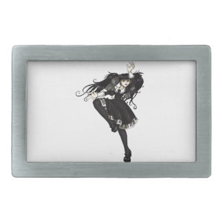 Piano Dance Rectangular Belt Buckle