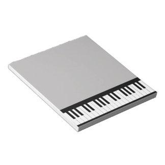 Piano de cola bloc de notas